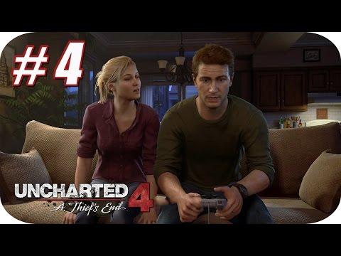 UNCHARTED 4 - Gameplay Español - Capitulo 4 - Una Vida Normal