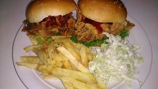 Crispy Zinger Burger 100% Geniun Recepis (king chef shahid jutt)