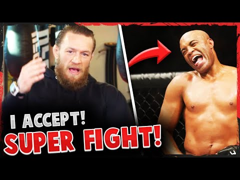 Conor McGregor accepts UFC fight with Anderson Silva: How would ...