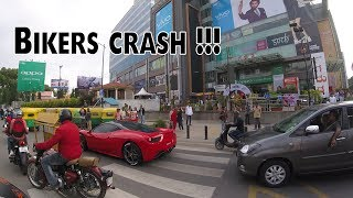 Bikers crash after seeing Ferrari | #148