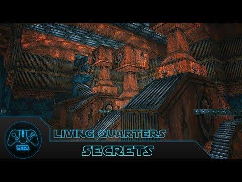 Tomb Raider 2 - Living Quarters - All Secrets