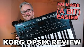 Korg OPsix Review & Beginner Tutorial // Easy to use FM synthesizer!