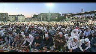 Самый массовый ифтар в Махачкале 20.000 чел.