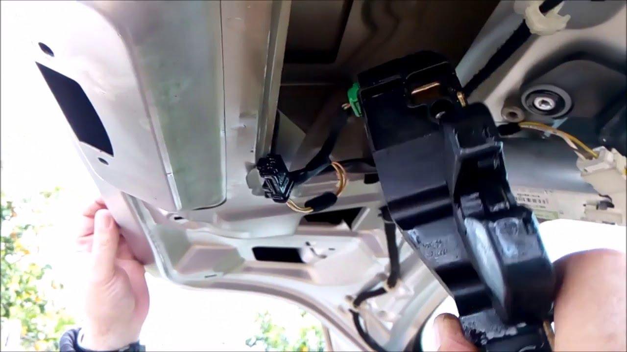 Cerradura Maletero No Abre Desmontar Reparar Peugeot