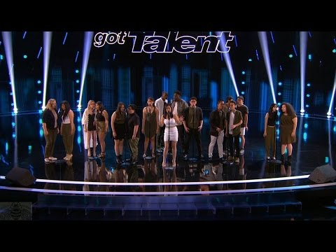 America's Got Talent 2016 Musicality Brilliant Inner-City Singing Group Full Judge Cuts Clip S11E