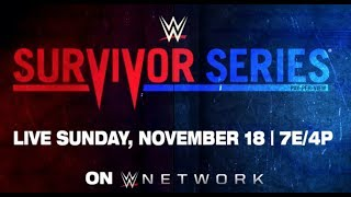 WWE Survivor Series 2018 LIVE Chat and Countdown