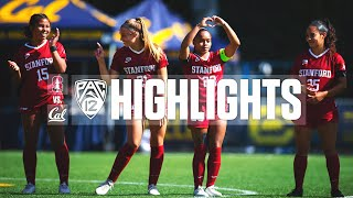 Stanford Women's Soccer vs. Cal | Highlights