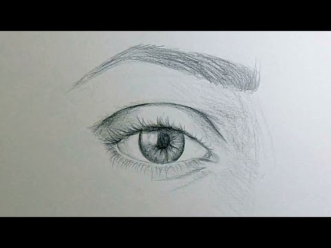 How to Draw Eyes - YouTube