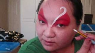 BASIC BASES - Eye shadow base - Girl design face painting tutorial Thumbnail