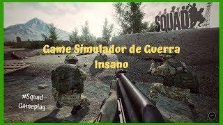 Jogo Simulador de guerra Realista - Squad Gameplay   #Squad #Simulador #Guerra #Realista #Gameplay