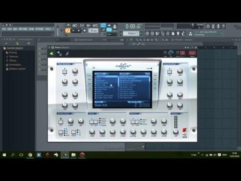 Как подружить Nexus с FL Studio 12