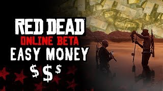 RED DEAD ONLINE - EASY MONEY (ARGENT FACILE) 100$/H !