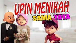 Upin menikah dengan Yaya , Boboiboy marah ? ipin senang GTA Lucu