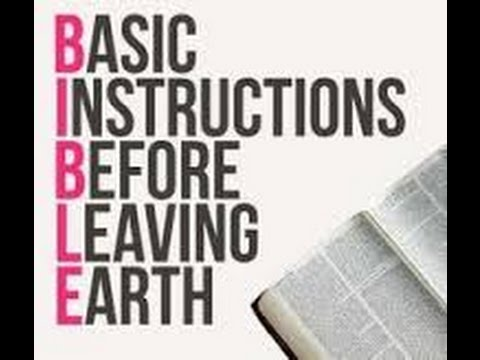 The Night Before Jesus Came: Basic Instructions Before Leaving Earth