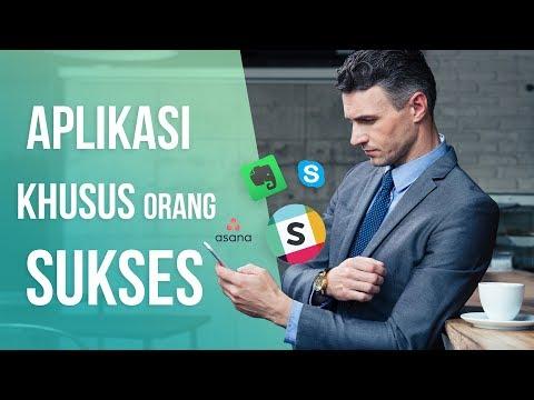 5 Aplikasi yang Pasti Ada di Smartphone Pengusaha Sukses