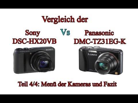 """Vergleich der """"Sony Cyber-shot DSC-HX20V"""" mit der """"Panasonic Lumix DMC-TZ31"""" -Teil 4/4-"""