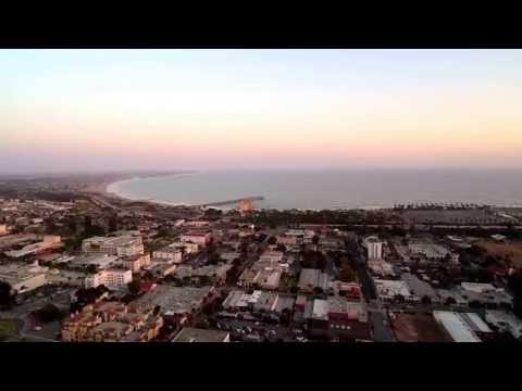 Soaring Over The City By The Sea-VENTURA ,Ca.