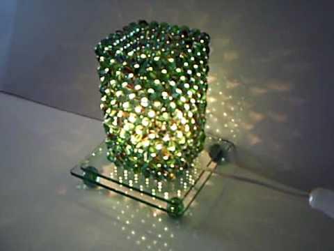 Luminria de bule de gude  YouTube