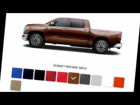 2016 Toyota Tundra Color Options (TRD Pro, Cummin's Diesel ...