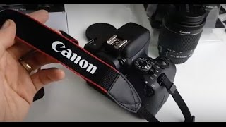 How to Attach Canon DSLR Neck Strap On
