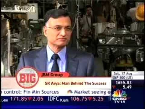 CNBC, MAKING IT BIG - JBM GROUP