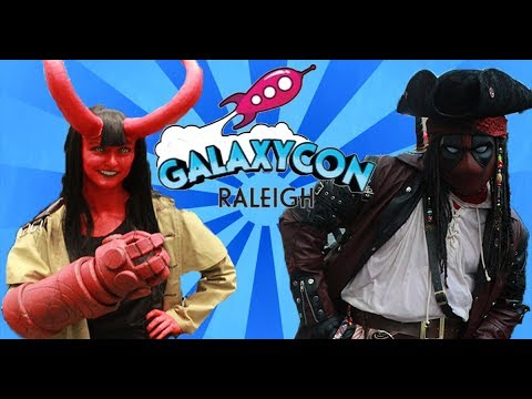 Raleigh Galaxy Con Collage video