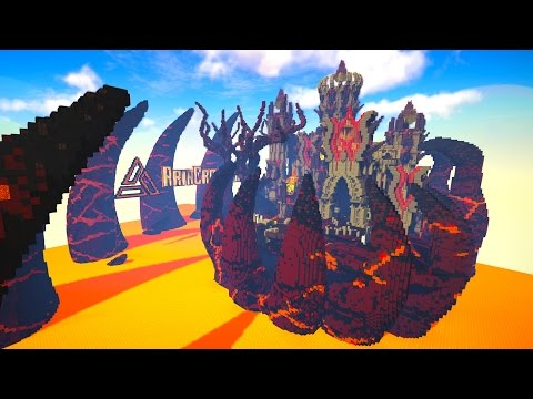 50 vs 3 - LAVA CASTLE SIEGE | FAN BATTLE! with LandonMC & ChocoTheChocobo