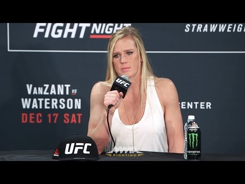 Holly Holm 'Ready to Make Statement Again' at UFC 208