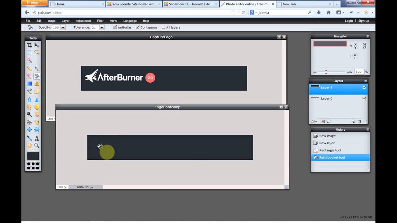Joomla 3x lesson 2 edit template and logo youtube maxwellsz