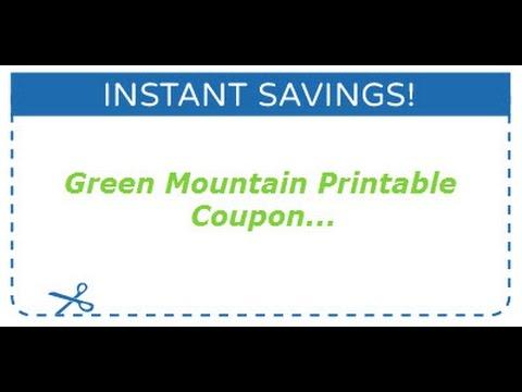 Green Mountain Printable Coupons