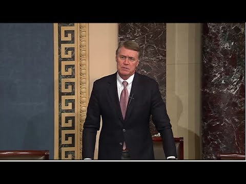 Senator David Perdue Takes To Senate Floor To Combat Democrat Misinformation On Obamacare