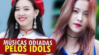 MÚSICAS ODIADAS pelos IDOLS do K-POP! 🎶👎