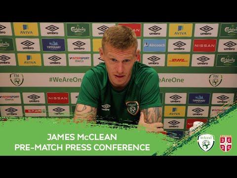PRE-MATCH PRESS CONFERENCE | James McClean
