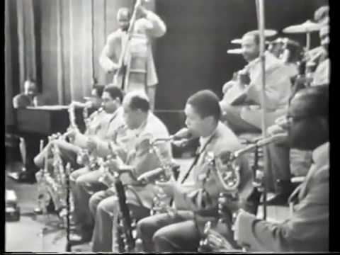 Count Basie Orchestra featuring Thad Jones,Frank Wess & Billy Mitchell 1960.