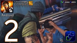 Modern Combat 5 Blackout Android Walkthrough Part 2 Chapter 2 Rinnoji Temple Awakening