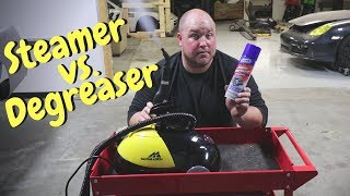 Cleaning Car Parts: Steamer vs Engine Degreaser