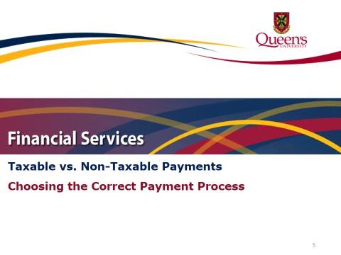 Taxable vs  Non Taxable
