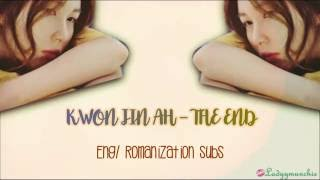 Kwon Jin Ah – The End (끝) Eng/Romanizations Subs
