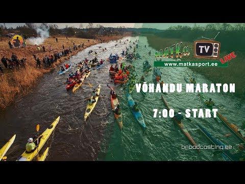 7:00 - start Võhandu maraton 2018 LIVE