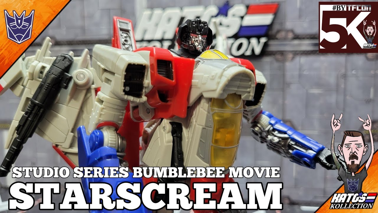 Transformers Studio Series Bumblebee Movie Starscream Review by Kato's Kollection