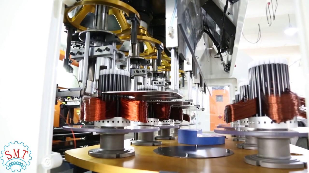 Fully Automatic Coil Winding Machine Alternator Stator Winding Machine