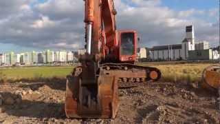 Korean used Daewoo S370LC-V Excavator -- Autowini.com(recover-013)