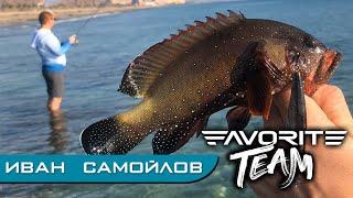 Бюджетная морская рыбалка с берега в ОАЭ Тестирование прототипов Favorite Skyline Favorite Team