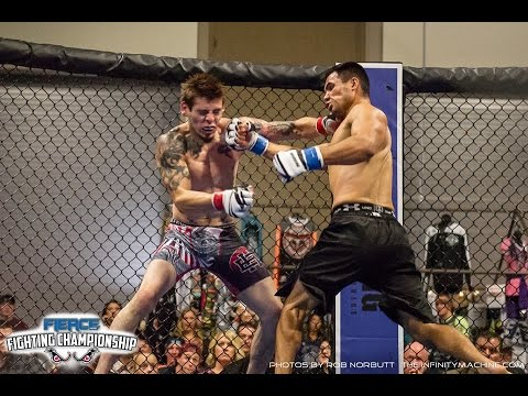 Mark Chavez vs Nick Estrada - Fierce Fighting Championship Evolution 9-24-16