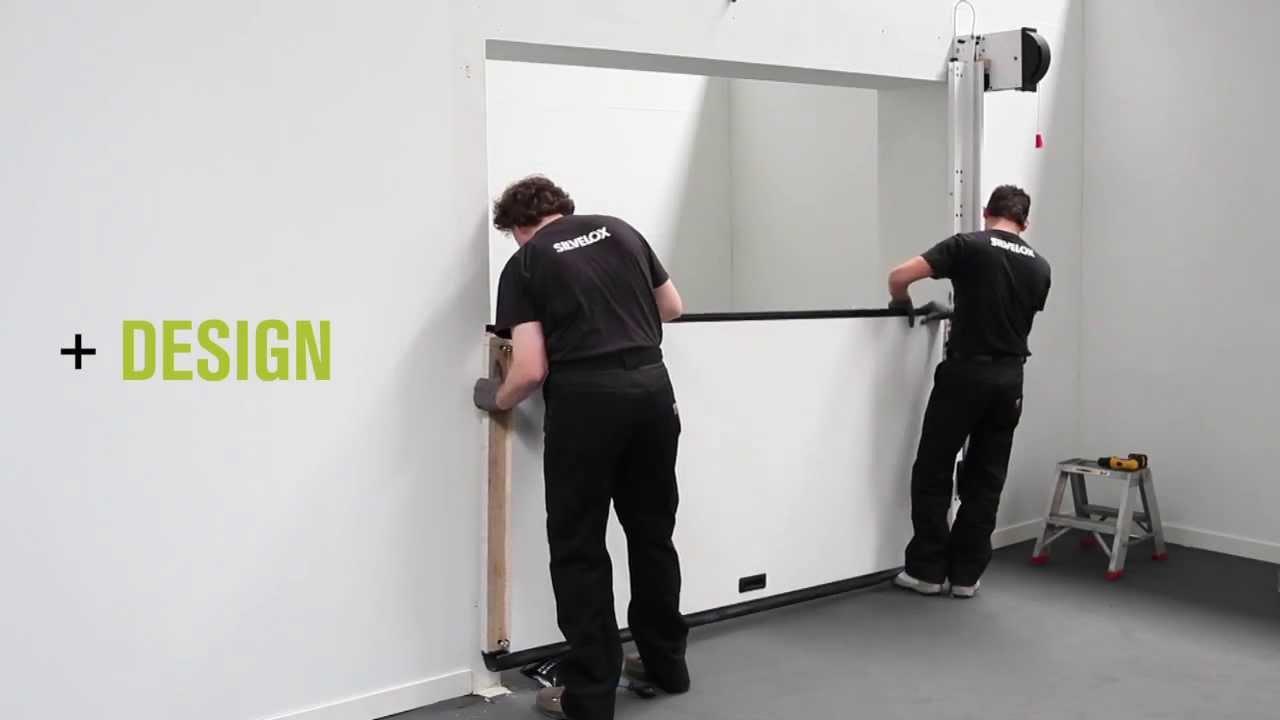 Sectional Garage Doors Overlap | Silvelox +Design +Space +