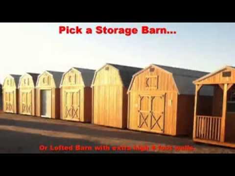 Tucson Portable Storage Sheds u0026 Barns (520) 987-0111 & Tucson Portable Storage Sheds u0026 Barns (520) 987-0111 - YouTube
