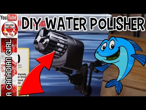 diy water polisher is