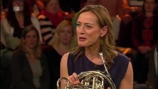 Sarah Willis on the Markus Lanz Show