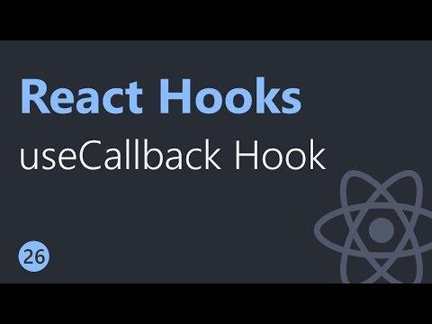 React Hooks Tutorial - 26 - useCallback Hook thumbnail