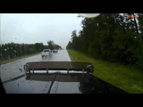 Hitting a Deer in the Big Truck - Peterbilt 379